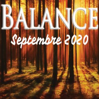Balance septembre 2020