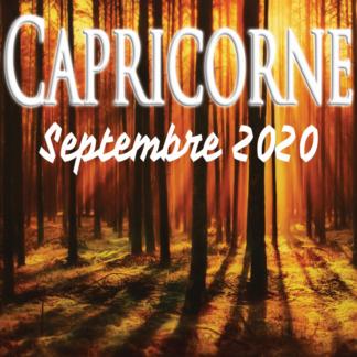 Capricorne septembre 2020