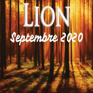Lion septembre 2020