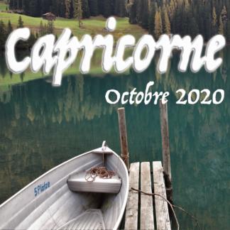Vidéos octobre 2020 Capricorne