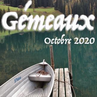 Vidéos octobre 2020 Gémeaux